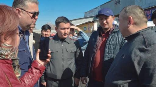 В Кыргызстане задерживают спекулянтов