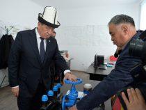Ремонт систем водоснабжения в Баткене завершится до конца лета