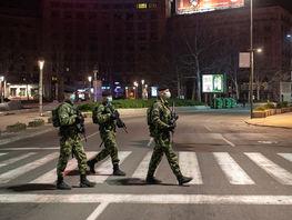 В Бишкеке за нарушение комендантского часа задержаны 119 человек