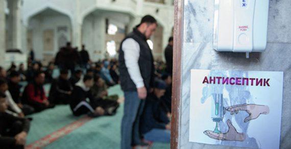 Пятничные намазы вмечетях Кыргызстана временно приостановлены