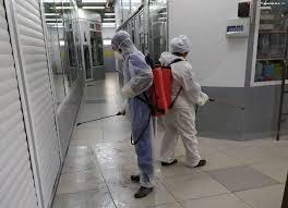 В Бишкеке дезинфицируют крупные гипермаркеты и торговые центры