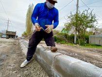 В Бишкеке продолжается капитальный ремонт дорог