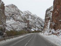 Проезд авто на горных участках дорог не закрыт