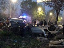 В Бишкеке в аварии пострадали четыре человека