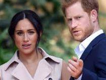 Внук британской королевы Гарри и его супруга  отказались общаться с английскими таблоидами