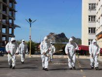 В Оше ведется активная дезинфекция улиц и дорог
