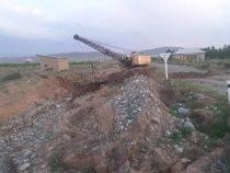 В Баткенской области ведутся работы по защите от селей домов и соцобъектов