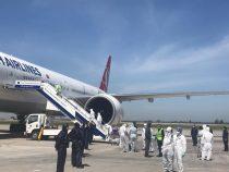 349 кыргызстанцев прилетели из Стамбула