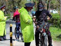 Комендант: Милиционеры не изымают велосипеды у бишкекчан