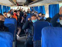 Кыргызстанцы, застрявшие в Оренбургской области, выехали на родину