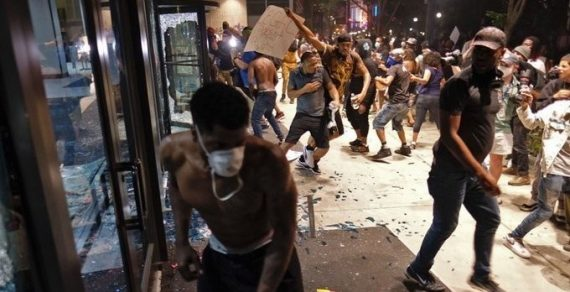 В крупных городах США начались беспорядки из-за смерти афроамериканца