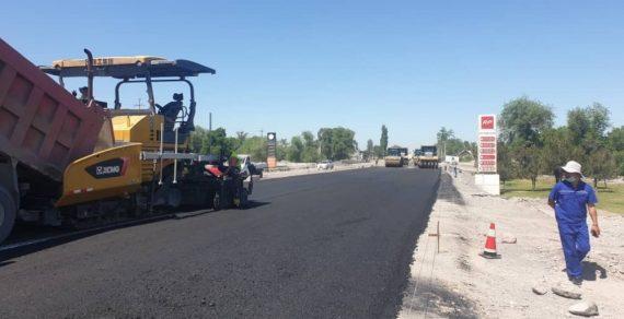 Ремонт дороги Бишкек – Кара-Балта продолжается