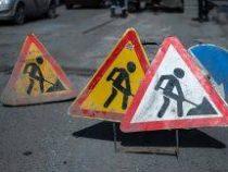 В Бишкеке на  улице Элебесова  временно затруднено движение транспорта