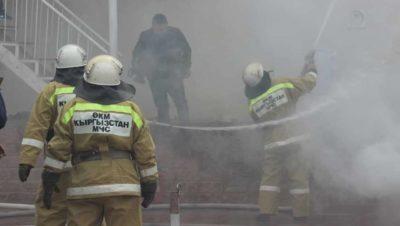 Пожар на юго-западе Бишкека локализован