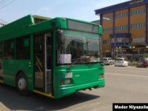 С 11 мая в Оше начнут ездить автобусы и троллейбусы