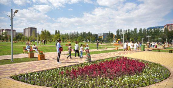 Мэрия Бишкека откроет парки ибульвары для прогулок