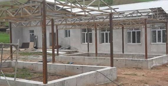 В селе Арпа-Тектир впервые строится детский сад