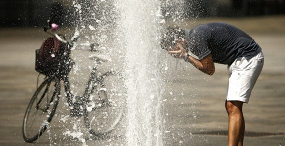 Сегодня в Бишкеке ожидается пик жары в этом месяце