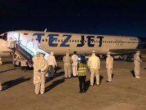 156 кыргызстанцев вернулись на родину из Санкт-Петербурга
