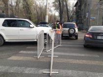 На въездах в Бишкек размещены 16 контрольно-санитарных пунктов