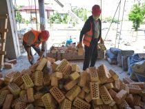 Строительство детсада в Бишкеке идет с небольшим отставанием