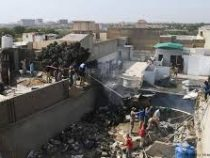 Два человека выжили в авиакатастрофе в Пакистане