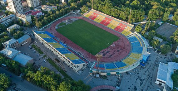 ВБишкеке для занятий спортом открыт стадион имени Омурзакова