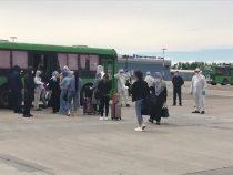 Из Стамбула прибыли 330 кыргызстанцев