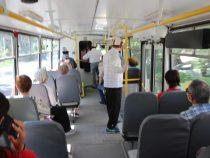 В Бишкеке возобновилась работа всех видов общественного транспорта