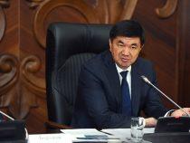 Премьер Абылгазиев  ушел в отпуск из-за дела о продаже радиочастот