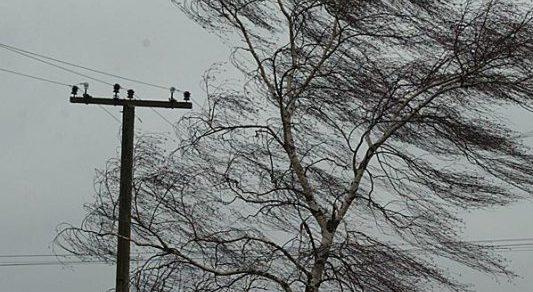Сильный ветер в нескольких районах страны снес крыши домов