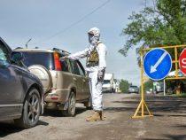 Карантинные посты вокруг Бишкека будут работать впрежнем режиме