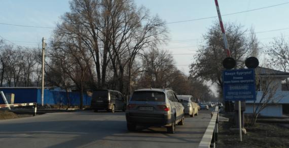 Железнодорожный переезд по улице Логвиненко в Бишкеке будет закрыт для авто