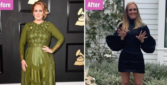 Певица Адель удивила фанатов, сбросив 45 килограммов