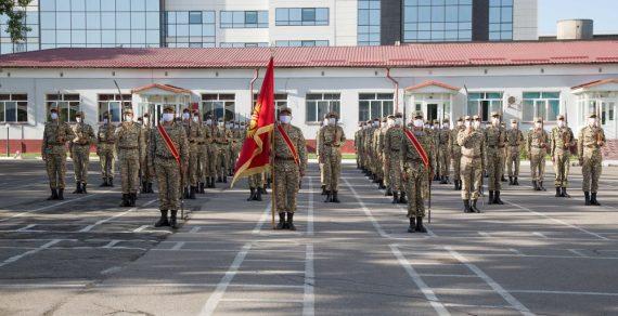 На Парад Победы в Москву отправятся более 70 бойцов Нацгвардии КР