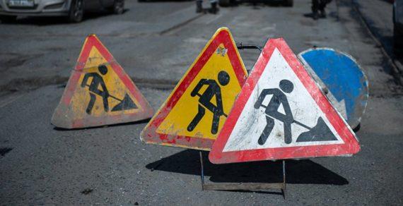 Нанекоторых улицах Бишкека затруднено движение автотранспорта