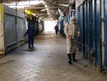 Аламединский рынок в Бишкеке закрыт на дезинфекцию