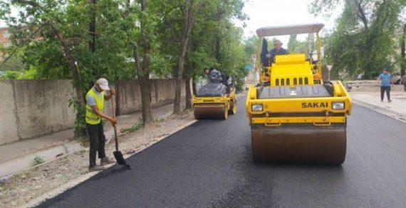 В Бишкеке ремонтируют сразу несколько улиц