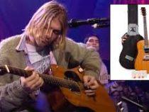 Гитара Курта Кобейна продана на аукционе за рекордную сумму