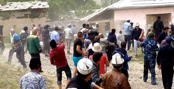 Обстановка по всему периметру госграницы Кыргызстана стабильная