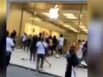 В Филадельфии протестующие разграбили магазин Apple