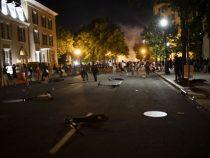 Рядом с Белым домом в США загорелись несколько зданий