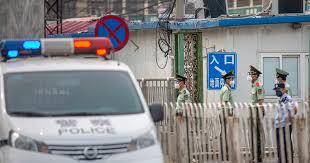 Впекинском районе Фэнтай объявлен режим военного времени