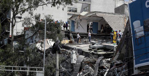 Шесть человек погибли и более 30 пострадали во время мощного землетрясения в Мексике