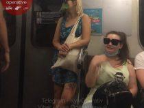 В Киеве женщина прославилась из-за «оригинальной» маски