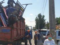 В столице продолжается демонтаж незаконных объектов