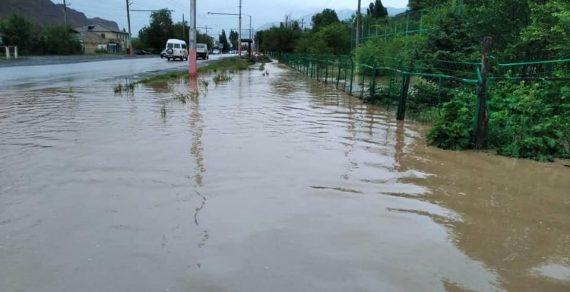 ВНарыне затопило 60дворов идорогу