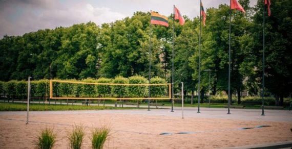 В Вильнюсе открыли пляж без моря