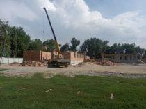 В селе Озерное Чуйской области строится новая школа