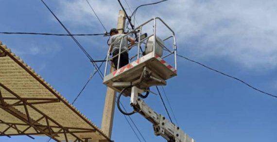 В новостройках столицы ведется ремонт наружного освещения